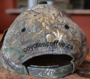 Camoulage cap back