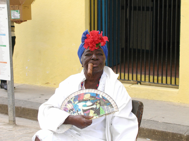 Cuban woman